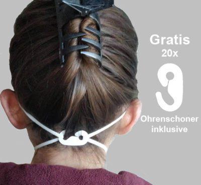 EexiInherent yx152 ffp2 atemschutzmaske Ohrschoner base 20 gratis