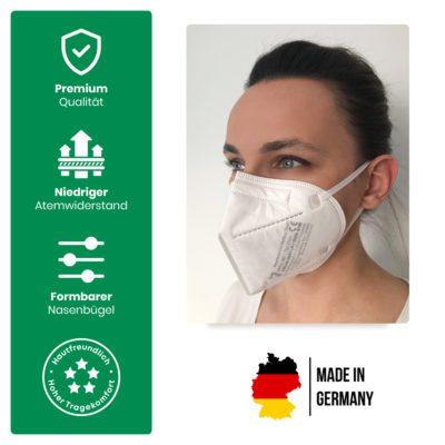 FFP2 Maske faciemF Vock Vorteile