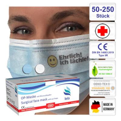 Medizinische OP - Masken bedruckt