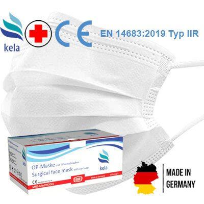 MNS OP Mund - und Nasenschutzmaske MedPro kela weiß