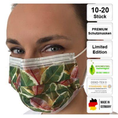 Premium-Schutzmasken-digital-bedruckt-kela-OP-Maske-Blaetter